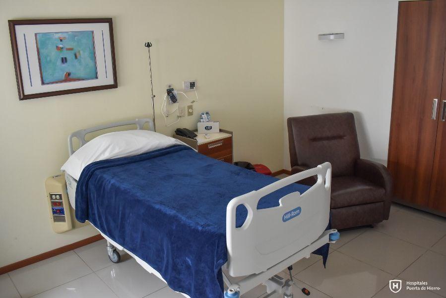 Habitación hospital Puerta de Hierro Colima
