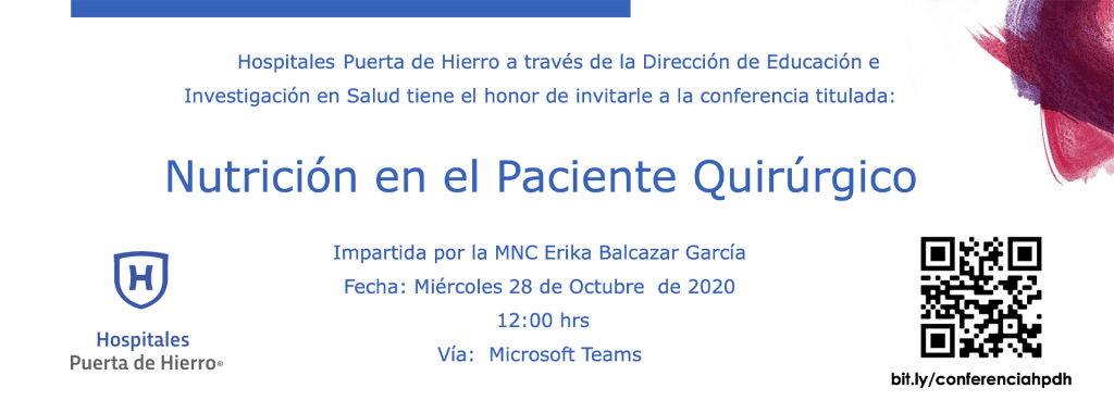 Conferencia virtual webinar invitación